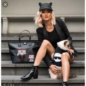 "Karl Lagerfeld Accessories - Karl Lagerfeld ""Choupette"" Cat Hat 5977f681fba"